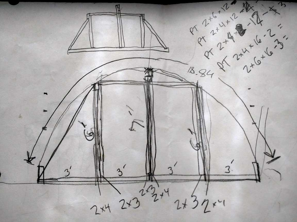 Hoophouse-Greenhouse-DIY-design-end-wall-structure-schematic - Mr